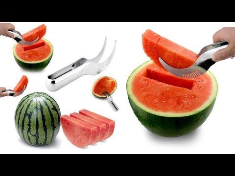 видео: Нож для арбуза / Быстро и красиво порежет арбуз / Специальный нож для арбуза