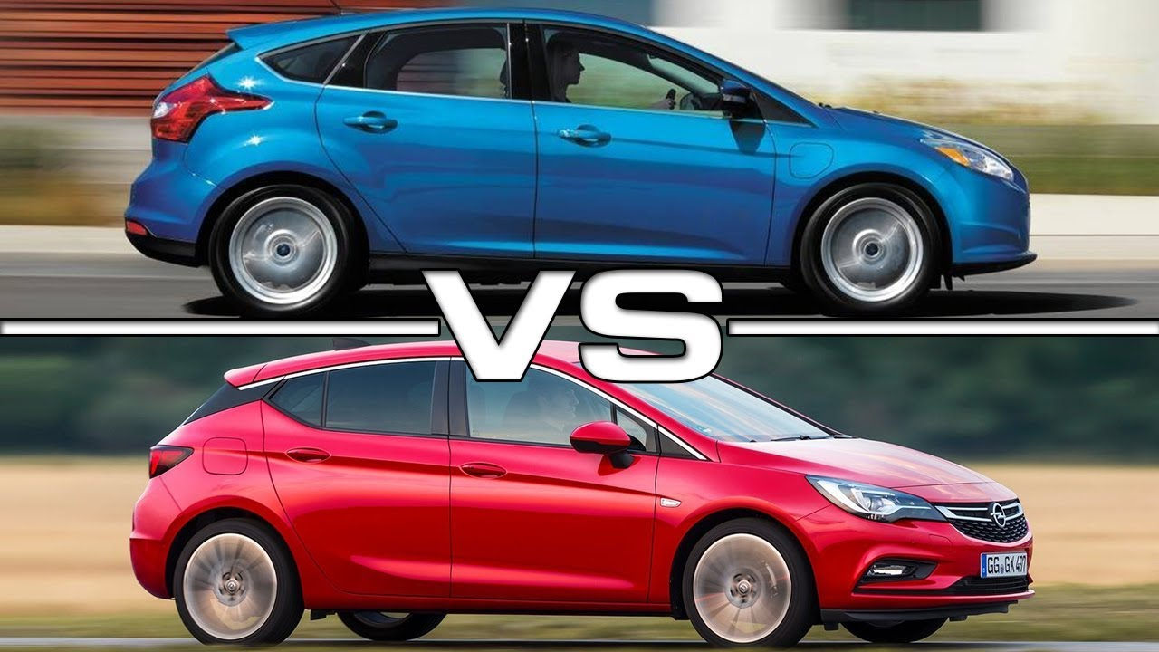 2017 Ford Focus Vs 2017 Opel Astra