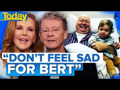 TV legend Bert Newton remaining positive after leg amputation | Today Show Australia