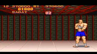 Street Fighter 2 Champion Edition [TAS] Sagat