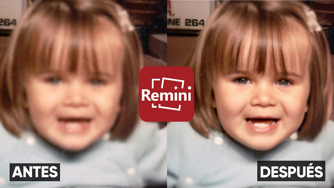 Conoce a Remini, la aplicación que permite mejorar fotos antiguas