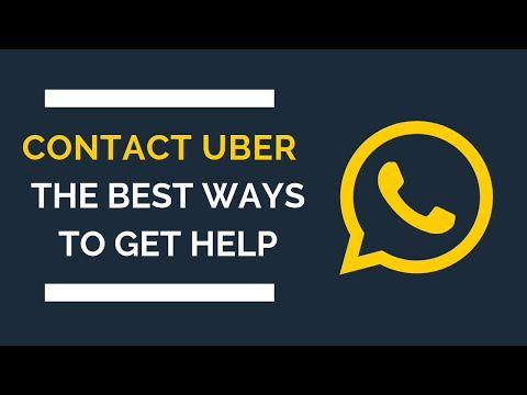 How to Contact Uber: Your Step-By-Step Guide