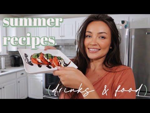SUMMER RECIPES! caprese 2 ways + limoncello drinks w/Chef Steph