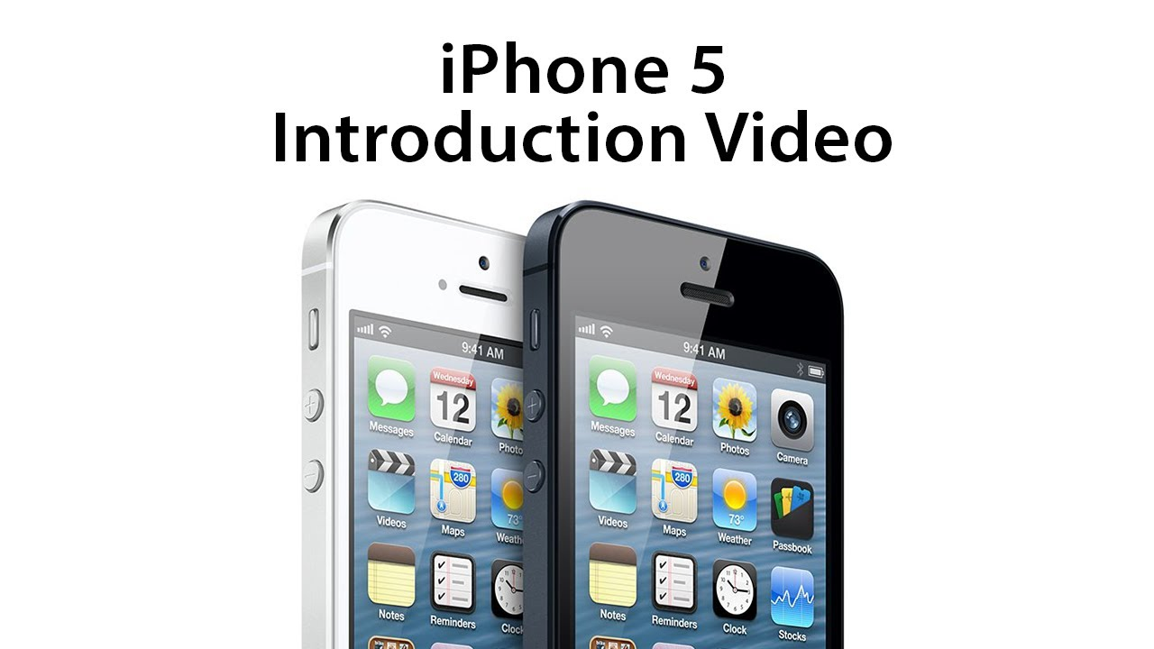 *NEW* Apple iPhone 5 Introduction Video - YouTube