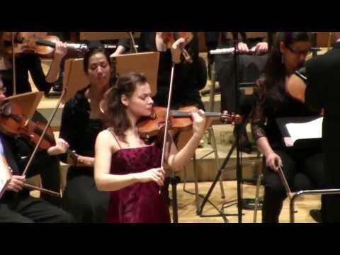 Yvonne Smeulers - Brahms Violin Concerto in D major, 1. Allegro non troppo