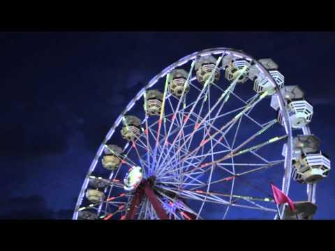 Carnival Midway Big Ferris Wheel at Dusk 1