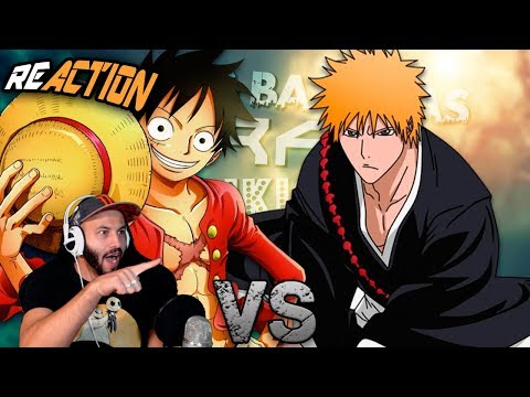 Luffy vs Ichigo.