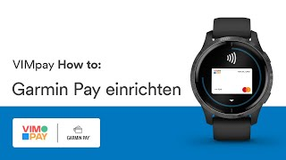 Garmin Pay einrichten ► VIMpay Banking App
