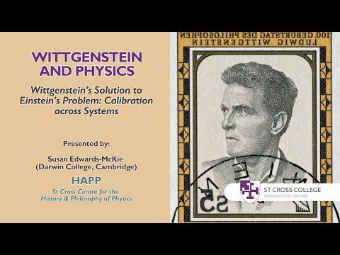 Wittgenstein and Physics Conference, HAPP Centre -  Susan Edwards-McKie