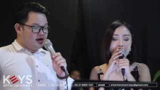 Video Kamu Yang Kutunggu - Afgan ft. Rossa (cover by KEYS Wedding Entertainment) - Jakarta download MP3, 3GP, MP4, WEBM, AVI, FLV November 2018