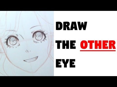 How to draw the OTHER eye!