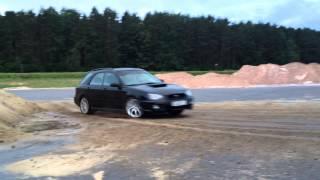 Subaru Impreza WRX AWD Drift (vito.by) Дрифт на полном приводе(Тренировка работы в управляемом заносе. Полный привод. Subaru Imreza WRX. http://vito.by AWD Drift Practice., 2015-07-01T22:20:34.000Z)