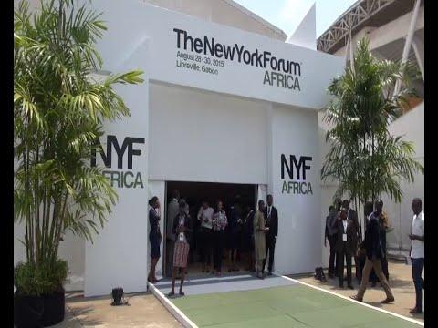 Ouverture du New York Forum Africa au Gabon (28-30 août 2015)