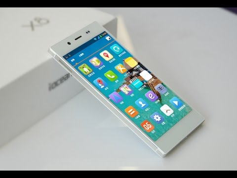 iOcean X8 mini, недорогой тонкий и стильный смартфон