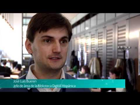 Digitalización de obras en la Biblioteca Nacional de España