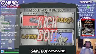 Battlebots: Beyond the Battlebox (GBA Challenge #157) (Longplay)