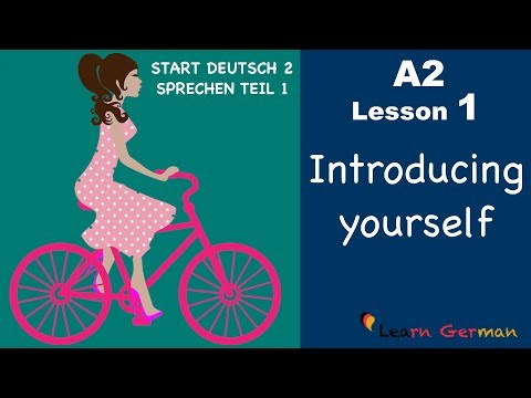 Learn German A2 | Introducing yourself | sich vorstellen | German for beginners | A2 - Lesson 1