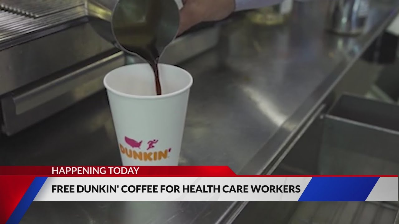 Healthcare workers, here's how to get your free Dunkin' coffee on ...