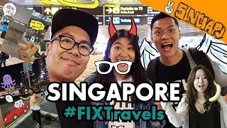#FIXTravels: Nicole Pulang Kampung! | Singapore Vlog