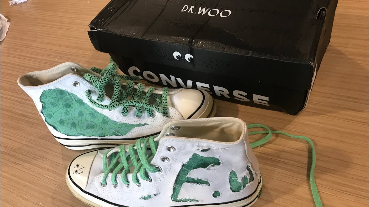 729ee6fe9c9 CONVERSE X DR WOO CHUCK TAYLOR 70 S HI UNBOXING AND REVIEW INDONESIA ...