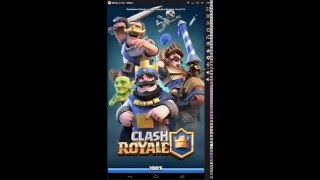 Playing Clash Royale On PC With Memu Android Emulator!