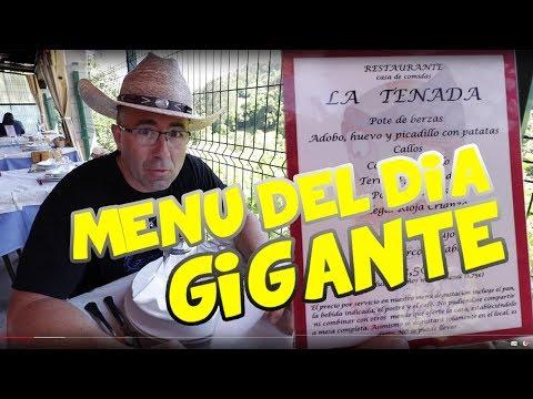 El menú del día más largo de España  - La Tenada - BRUTAL
