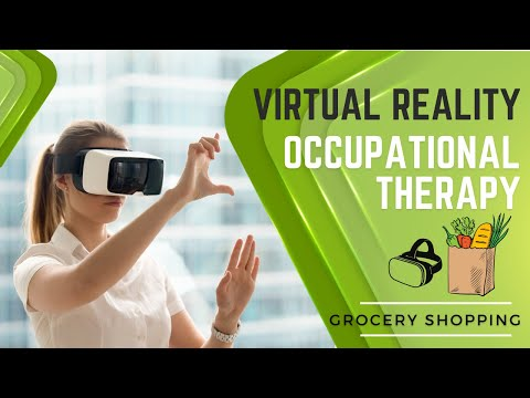 Virtual Reality Occupational Therapy: Improving Visual Perceptual Skills - Beginners