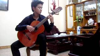 Cơn Mưa Phùn - Đức Huy (KakaNg guitar cover)