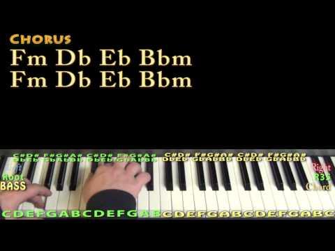 Ride Out (Wiz Khalifa) Piano Lesson Chord Chart