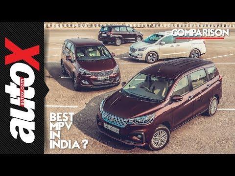 Best MPV in India? Ertiga + Innova + Marazzo + Carnival    autoX