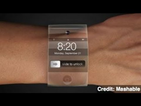 Apple Patent Application Looks Like Slap-Bracelet iWatch