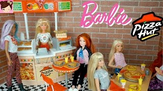 Barbie Pizza Hut Restaurant Playset  - Playing with Dolls , Toys for Kids