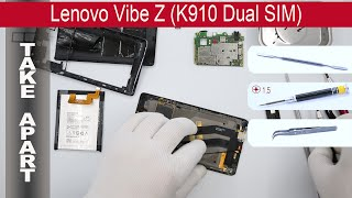 How to disassemble 📱 Lenovo Vibe Z K910, Take Apart, Tutorial(How to disassemble Lenovo Vibe Z K910 by himself. Disassembly (take apart) and repair smartphone Lenovo Vibe Z K910 at home with a minimal set of tools., 2015-04-28T15:49:45.000Z)