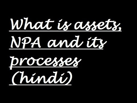 what is Assets and NPA or its processes