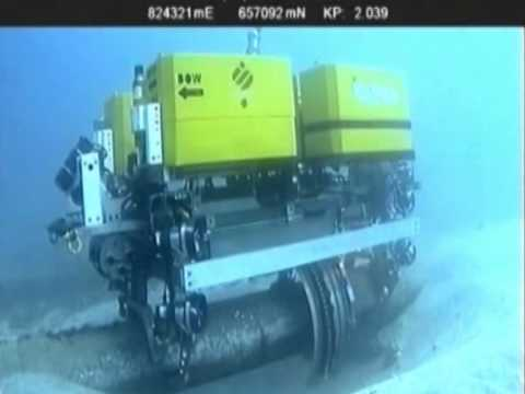 SUBSEA ROV-PEC - Underwater Wall Thickness Measurement system for coated pipes