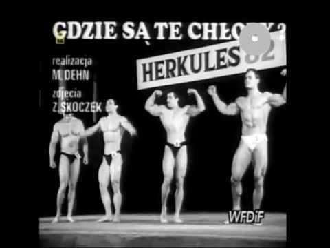 PRL 1982 Kulturyści Herkules '82. Wakacje, lato i ciągle kryzys