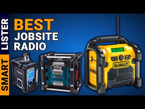 Best Jobsite Radio Reviews (2020) – [Top Rated]