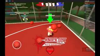 JUGGERNAUT IN FIRST MATCH?   Roblox dodgeball