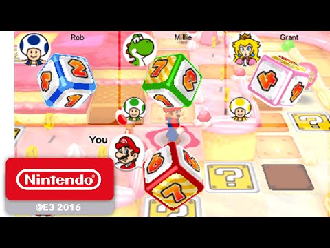 Mario Party Star Rush - Debut Gameplay - Nintendo E3 2016