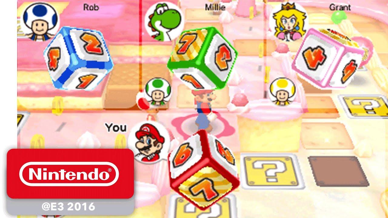Mario Party Star Rush - Debut Gameplay - Nintendo E3 2016 ...