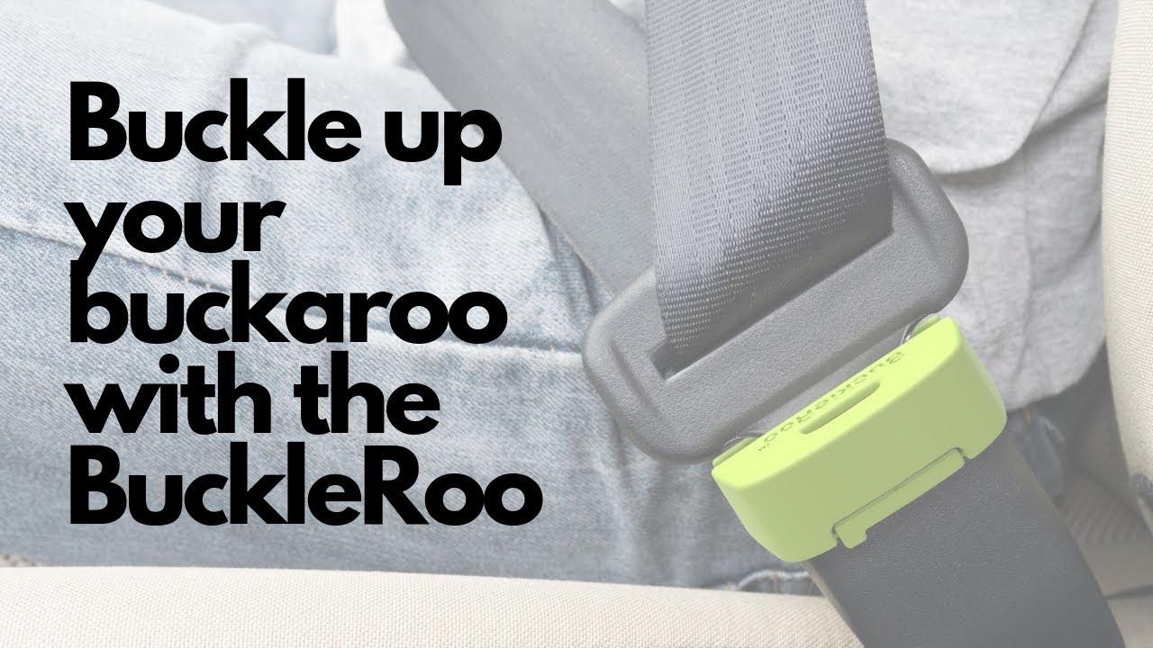 BuckleSafe Car Seat Belt Buckle Guard