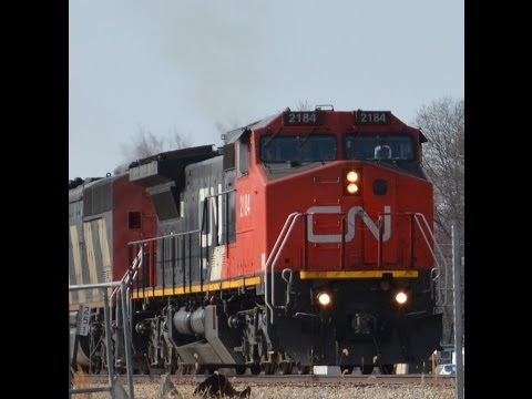 Trains on the CN