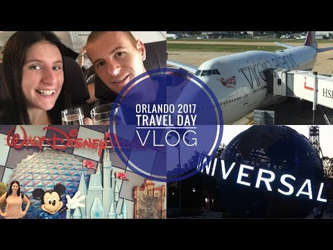 Orlando Vacation | Travel Day  & Universal Studios | September 2017