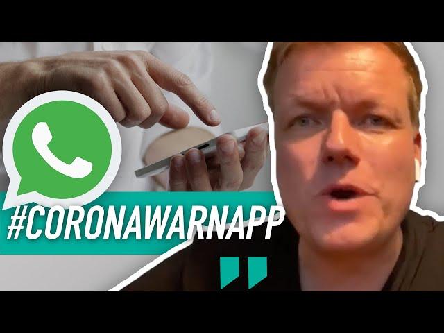 #coronawarnapp - Warum du WhatsApp dann auch gleich in die Tonne treten solltest