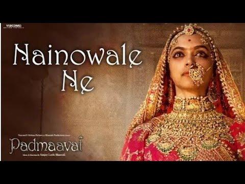 """""""Nainowale Ne """"   Padmaavat   Deepika Padukone   Sahid Kapoor   Ranveer Singh   Ringtone"""