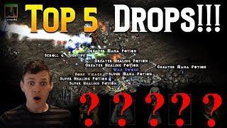 Diablo 2 -TOP 5 Drops live 2018 (1/2 year)
