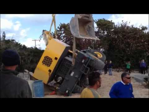 Crane Pulled Upright March 6 2013