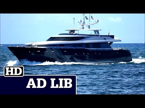 Alloy Yachts 40 Meter | AD LIB out and in at Fort Lauderdale