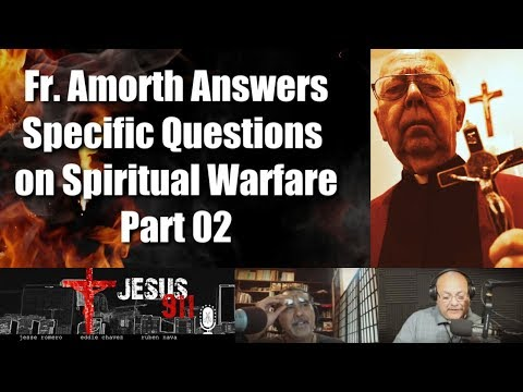 17 Apr 2019 Fr Amorth Answers Specific Questions On Spiritual Warfare Part 02