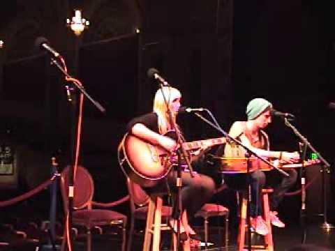 Casey Schuber performing an original ,